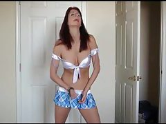 Slutty outfit on jerk off instruction girl tubes