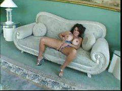 Big titty slut in lingerie spreads for sex tubes
