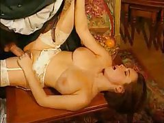 Hot girl in white stockings ass banged tubes