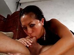 Asian and messy facefucking action tubes