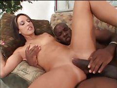 She teases black guy and he fucks her tubes