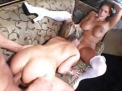 Bride has a threesome with another couple tubes