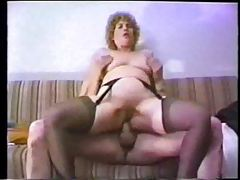 Classic porn with toy and cock in her ass tubes