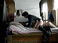 A drunken fuck in bed with amateurs tubes