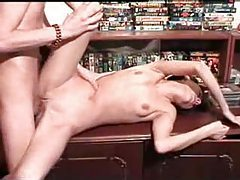 Slender and hot drunk chick is fucked hard tubes
