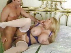 Massive tits on this blonde that craves sex tubes