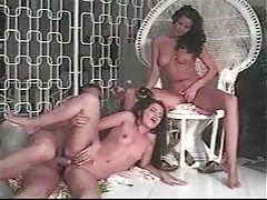 Slender girl has anal and is helped by friend tubes