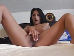 Slender striptease masturbating action tubes