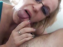 Jizz junky swallows his fun loads tubes