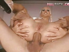 Nurse does ass fingering and ass fucking tube