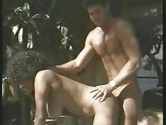A young Peter North getting it on tubes