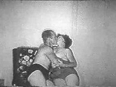 Black and white retro fuck film tubes