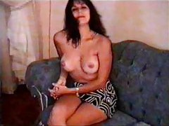 Milf amateur enjoys modeling her body tubes