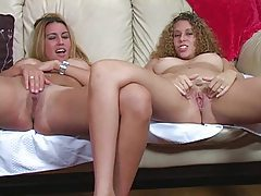 Lusty chicks show you about masturbating tubes