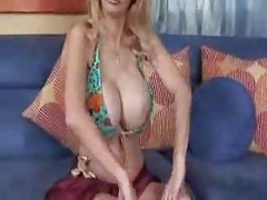 Super busty cougar fucked by young man tubes