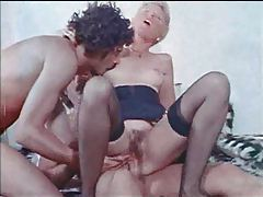 Kinky hairy pussy blonde wants two dicks tubes