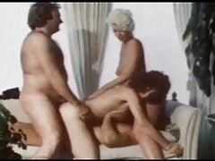 Group scene from a classic porn movie tubes