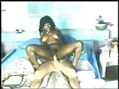 Sexy black girl boned by large cock tubes