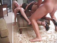 He has a threesome with busty English girls tubes