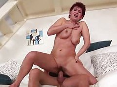 Naughty mature takes an anal creampie tubes