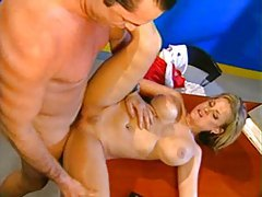 Sexy lifeguard fucked on her desk tubes