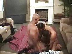 Three black guys fuck a white lady tubes