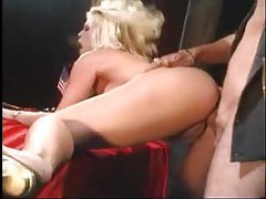 Busty blonde fucked by a cowboy tubes