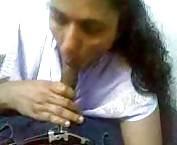 Indian amateur gives a blowjob tubes