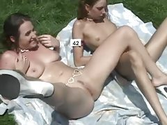 Naked ladies at the nudist retreat tubes