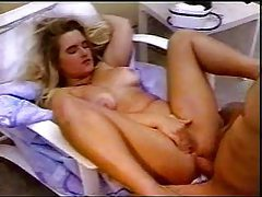 Fucking her ass and pussy on a lounge chair tubes