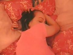 Sleepy girl woken up to fuck hard tubes