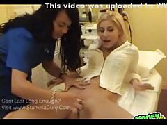 Chick goes in for the Brazilian wax and gets licked tubes