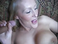 Super hot girl with shaved pussy sitting on dick tubes
