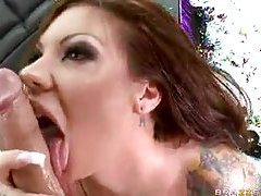 Face fucked and then ass pounded tubes