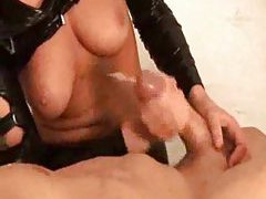 A handjob cumshot compilation tubes
