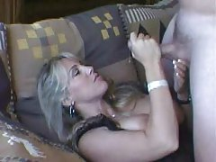 Wifey the porn slut loves facials tubes