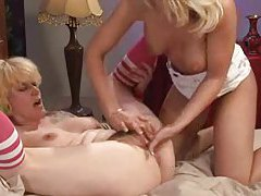 Blonde girl with three tits fucked tubes