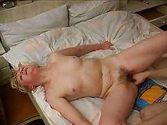 Foxy mature fucked by the horny young man tubes