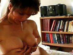 Asian milf eats his dick until he cums hard tubes
