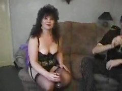 Sexy mature in black lace lingerie fucked tubes