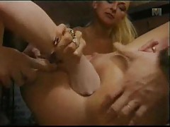 Tremendous fisting of her very sexy ass tubes