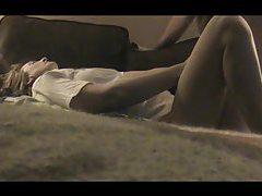 Sexy webcam girl in her black lingerie tubes