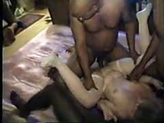 Russian redheaded mature taking his dick tubes
