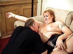Chubby slut licked and fuck from behind tubes