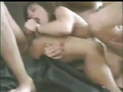Three guys come over to bang the wife tube