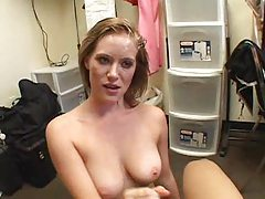 Face fuck with pretty girl gets messy tubes
