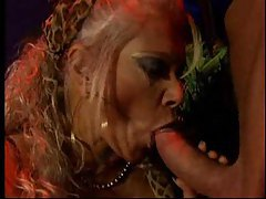 Fortune teller with big tits gives him a blowjob tubes
