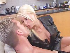 Mega hot blonde wants his dick tubes