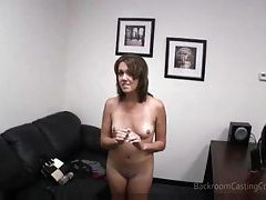 Young coed makes her first porn movie tubes