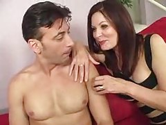 Mom in tight dress seduces him tube